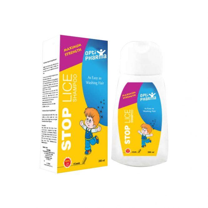 Opti Pharma Stop Lice Shampoo