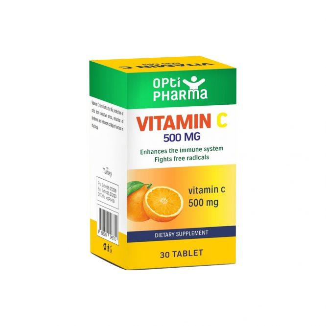 Opti Pharma Vitamin C 500 mg